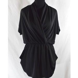 Rachel Roy Black Sleeveless Cocktail Dress Sz XL